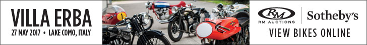 Villa Erba, 27th May 2017. View bikes online by RM Auctions/Sotheby's