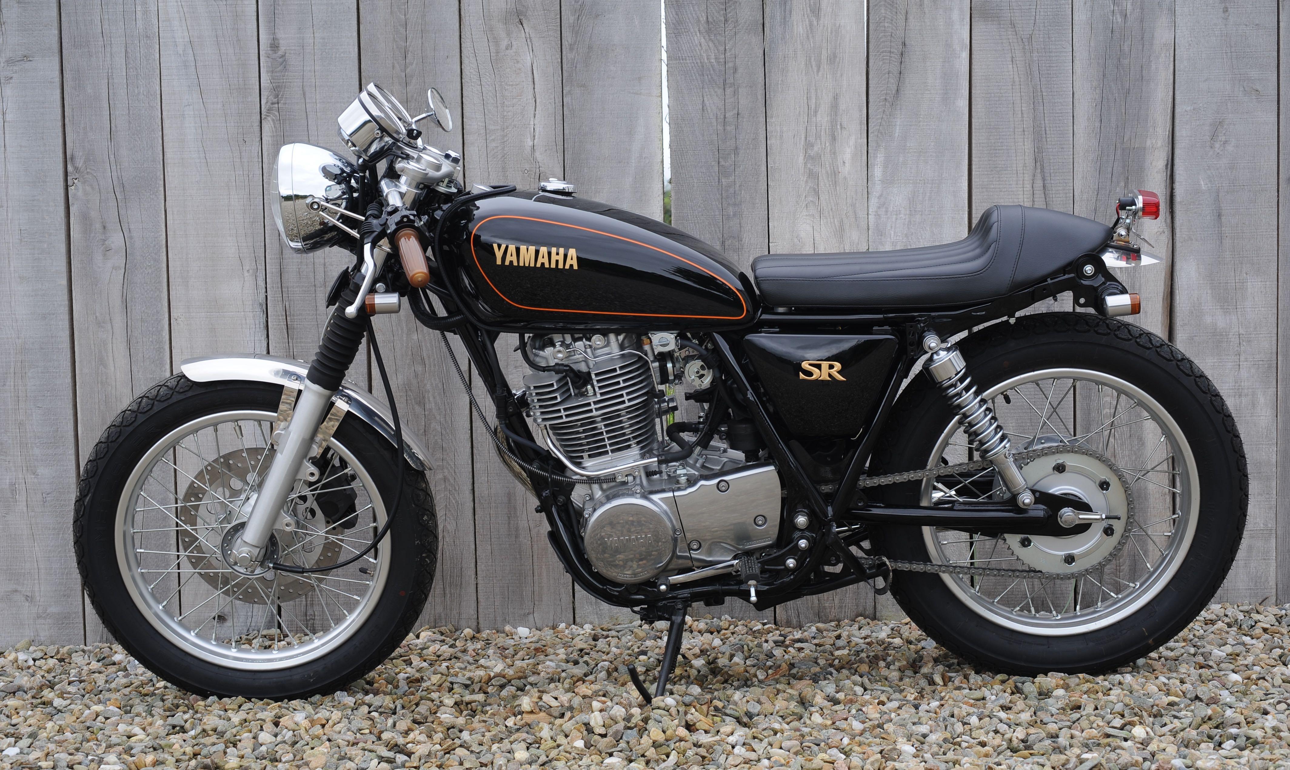 yamaha sr400 cafe racer | sugakiya motor